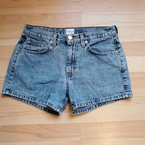 Calvin Klein | Double Stone Wash Jean Shorts